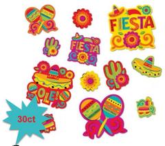 Caliente Fiesta Cutouts, 30ct