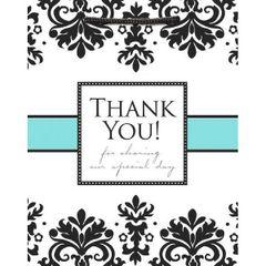 Always & Forever Thank You Medium Printed Bag