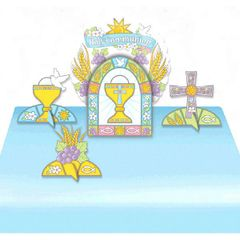 Communion Air Filled Balloon Centerpiece