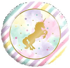 Unicorn Sparkle Metallic Balloon