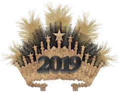 """2019"" Gilded Crown"