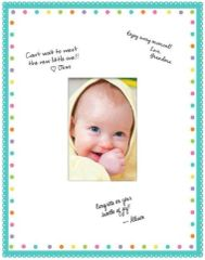 Baby Shower Autograph Frame