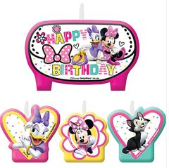 ©Disney Minnie Mouse Happy Helpers Birthday Candle Set
