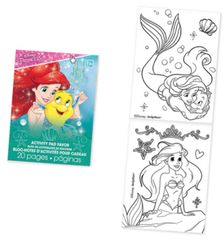 ©Disney Ariel Activity Pad Favor