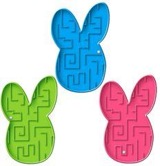 Bunny Plastic Maze Puzzle