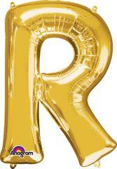 "Gold Letter R - 34"" Mylar"