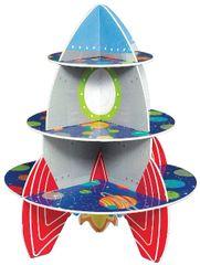 Blast Off Birthday Rocket Treat Stand