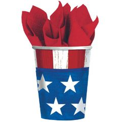 Americana Cups 9oz.