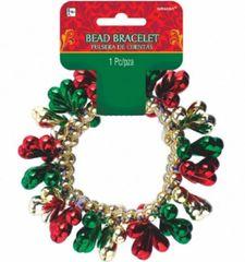 Holiday Bead Bracelet
