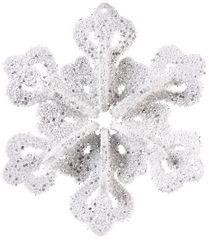 Glitter Snowflake 3-D Decoration