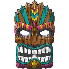 Tiki Mask - Vac Form