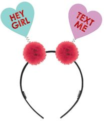 Glitter Conversation Hearts Head Bopper