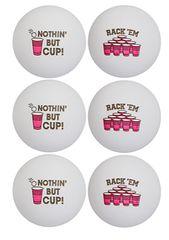 Beer Pong Balls, 6ct