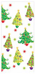 Christmas Tree Small Cello Party Bags