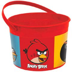 Angry Birds Plastic Favor Container