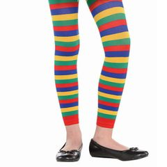 Child Rainbow Footless Tights