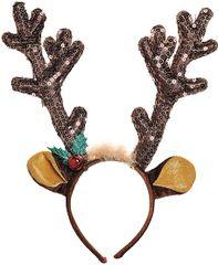 Sequin Reindeer Antlers Headband