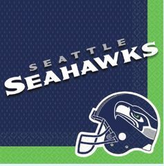 Seattle Seahawks Luncheon Napkins, 16ct
