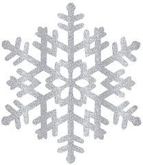 Large Silver Snowflake