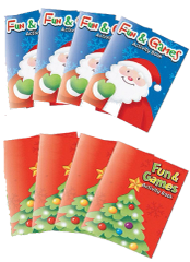 Christmas Activity Pads, 8ct