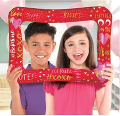 Valentine's Day Inflatable Balloon Frame