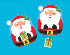 Christmas Card w/Eraser