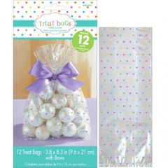 Baby Shower Cello Treat Bags - Neutral