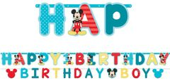 ©Disney Mickey's Fun To Be One Jumbo Letter Banner Kit, 2pc