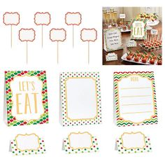 Christmas Buffet Decorating Kit