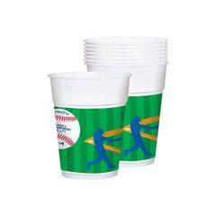 Major League Baseball Plastic Cups