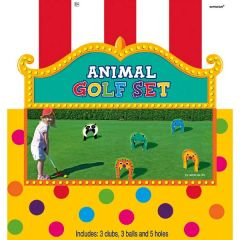 Animal Golf Set, 11pc