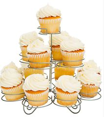 3-Tier Wire Cupcake Stand