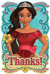 ©Disney Elena of Avalor Postcard Thank You Cards, 8ct