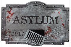 Asylum Sign - Styrofoam