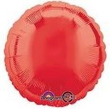 Round 40 Red Mylar Balloon 18in
