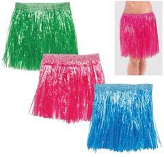 Adult Hula Skirt, 3ct