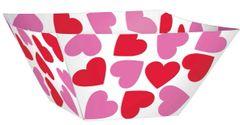 Valentine's Day Paper Bowls, 3ct