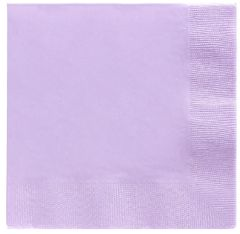 Big Party Pack Lavender Beverage Napkins, 125ct