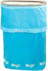 Caribbean Blue Flings® Pop-Up Trash Bin