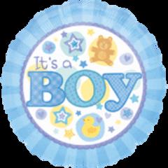 """It's A Boy Blue 18"""""""