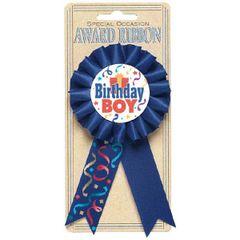 Birthday Boy Award Ribbon