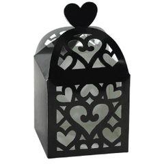 Black Lantern Favor Boxes