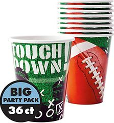 Football Frenzy Cups, 9 oz.