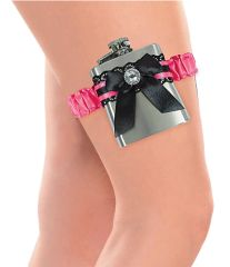 Bachelorette Party Garter Flask - Sassy Bride