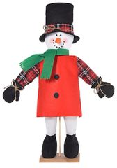 Medium Snowman Standee Prop Decor
