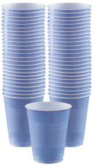 Big Party Pack Pastel Blue Plastic Cups, 16 oz - 50ct