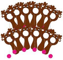 Christmas Reindeer Bulls-Eye Game