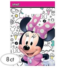 ©Disney Minnie Mouse Happy Helpers Folded Loot Bags, 8ct