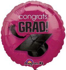 """Congrats Grad! Berry Balloon 18"""""""