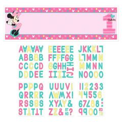 ©Disney Minnie's Fun To Be One Personalized Giant Banner Kit